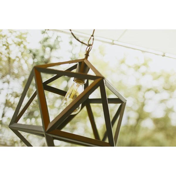 多角形スチールアルミのペンダントライト
