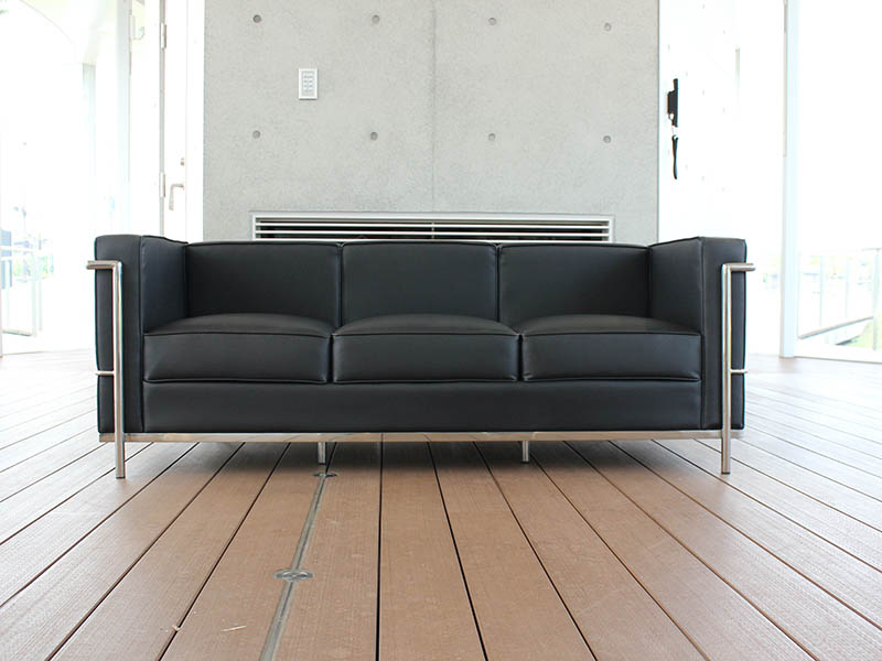 LC2 ソファ | コルビジェ | PU 応接セット|法人のみ