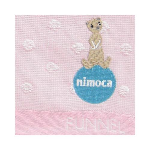 nimoca×FUNNEL ハンドタオル ドット(ピンク)FN-008