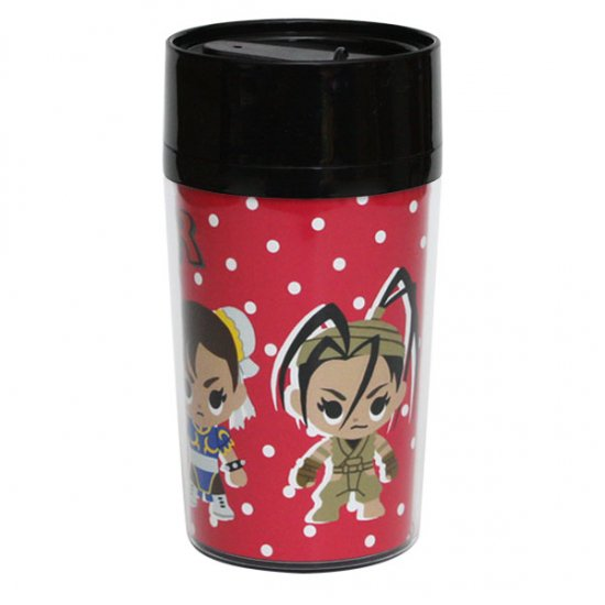 ストリートファイター×play set products タンブラー ピンク3人