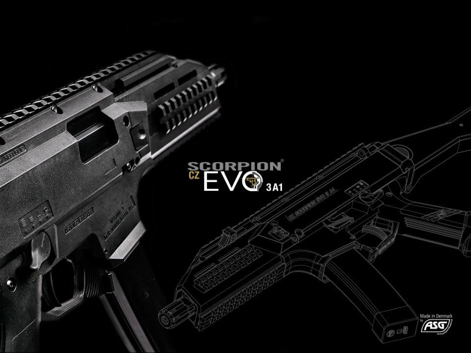 ASG スコーピオン CZ EVO3 A1 新型ECU 新色デザート 電動ガン