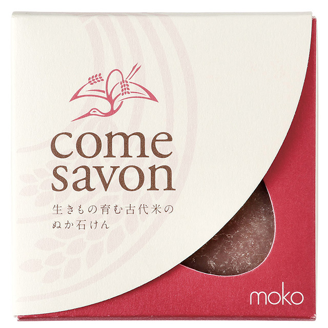 COME SAVON(コメサボン) 紅 80g