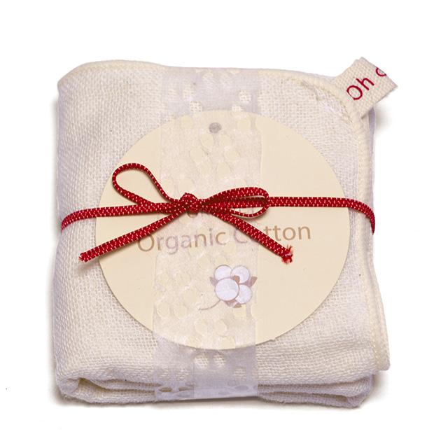 【出産祝いに】赤ちゃん&ママの4点セット(COME SAVON 白&紅+ガーゼタオル+洗顔ネット)
