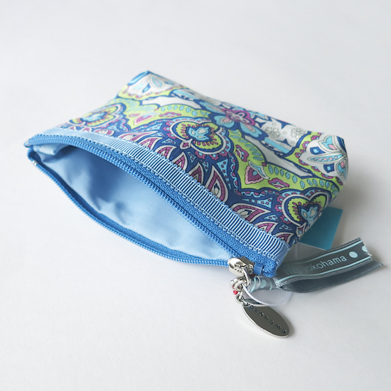 Tissue Pouch(Blue Paisley)