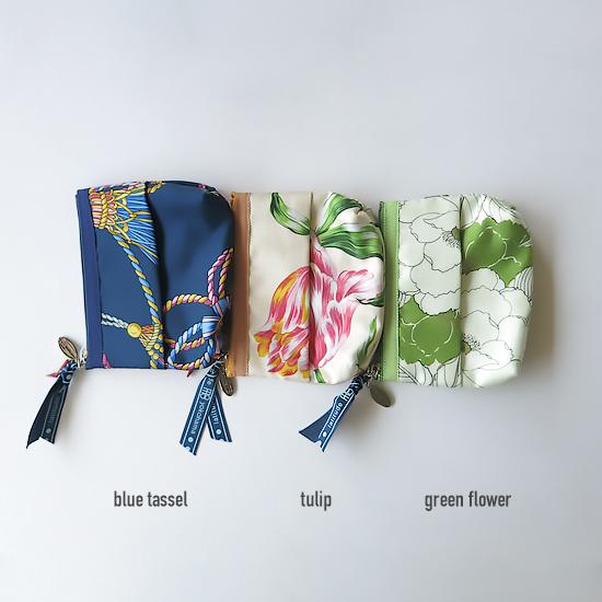 Tissue Pouch(Navy Tassel)