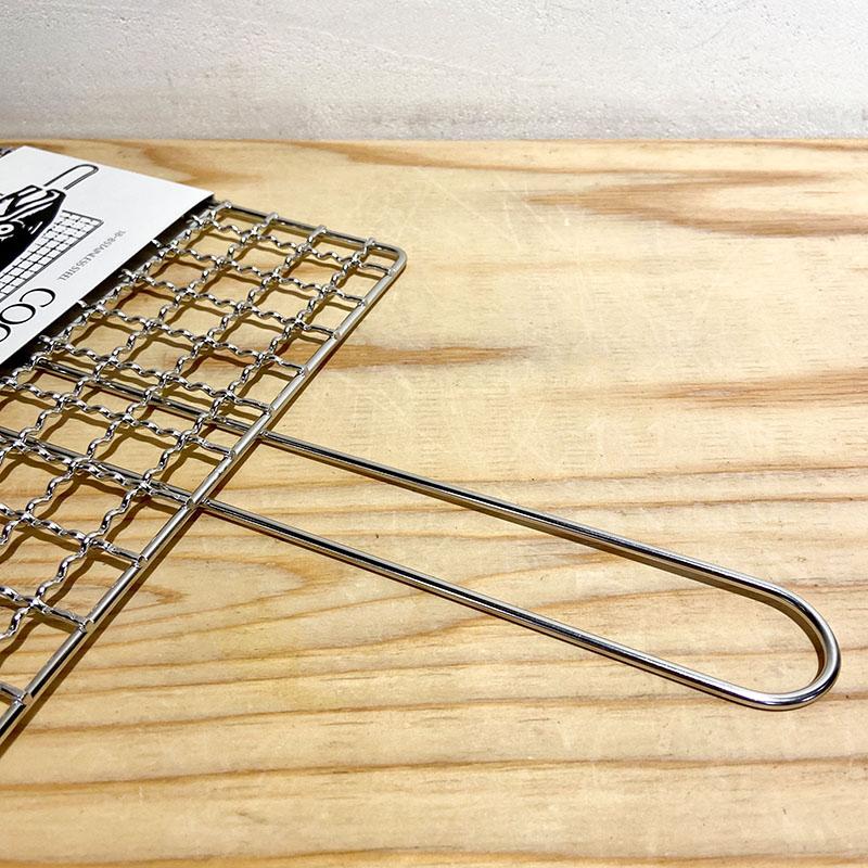 (工房アイザワ)クッキングネット 手付一枚アミ 20cm