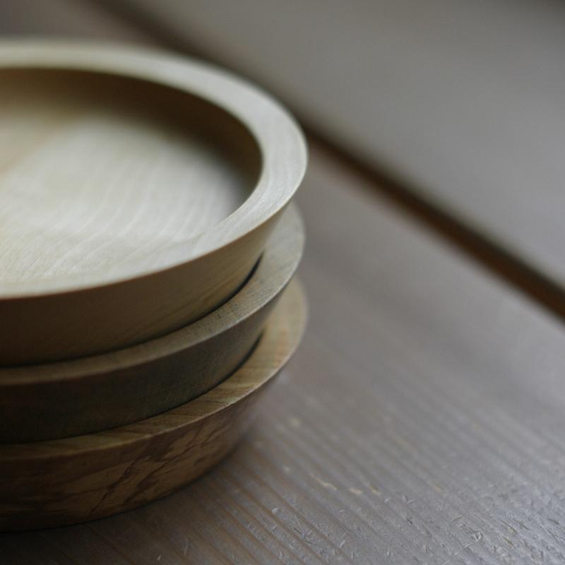 (新山木工)木皿コースター