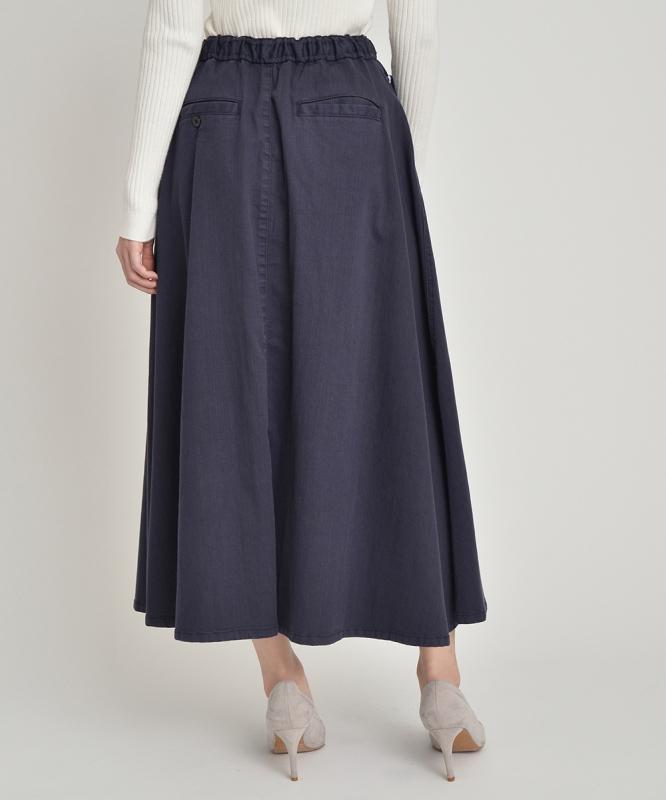 イージーフレアシルエットスラブスカート