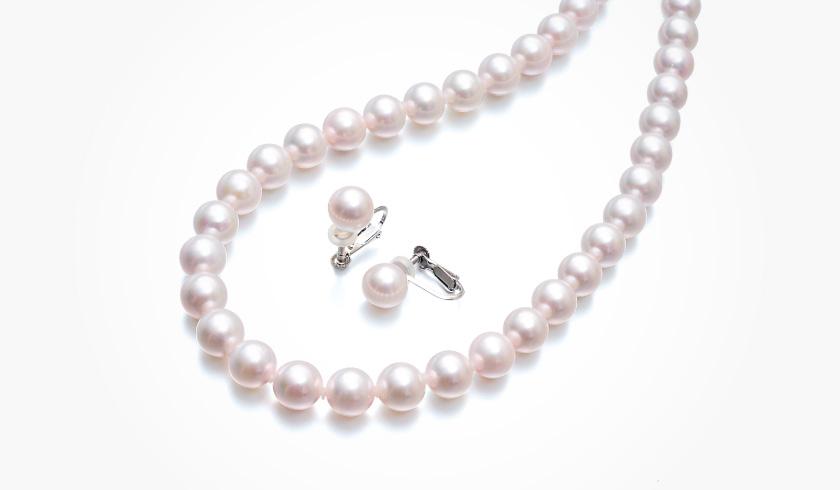 あこや本真珠(パール)ネックレスセット(8.0-8.5mm)