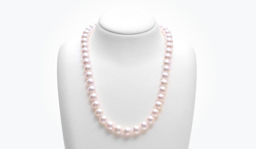 あこや本真珠(パール)ネックレスセット(8.5-9.0mm)