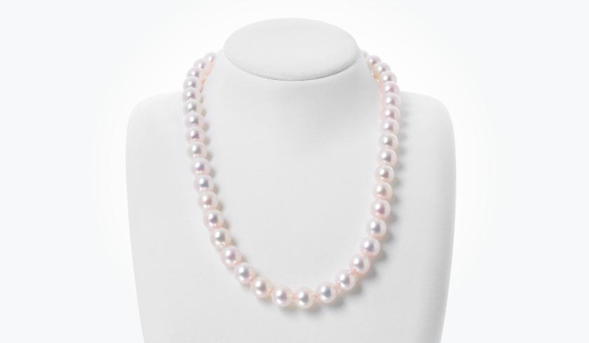 あこや本真珠(パール)ネックレス(9.0-9.5mm)