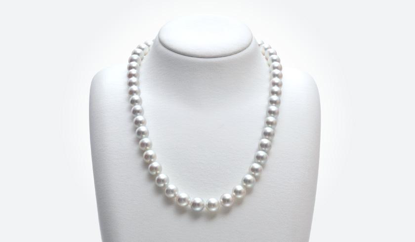 オーロラ真多麻真珠 ネックレスセット(8.0-8.5mm)