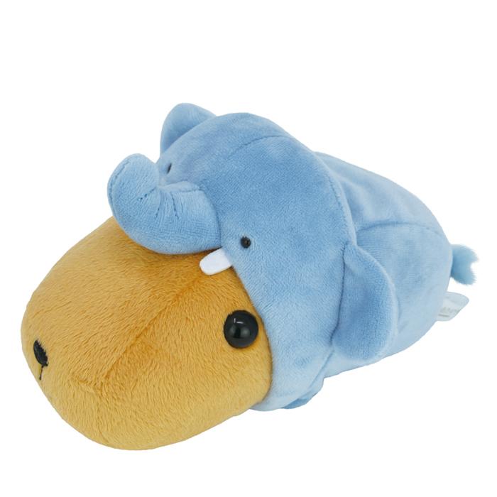 カピバラさん まねっこ動物園 ぬいぐるみ ゾウ