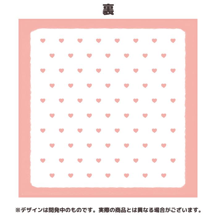 【予約】【ネコポス可】たぬきゅん×モンチッチ タオルハンカチ ロゴ
