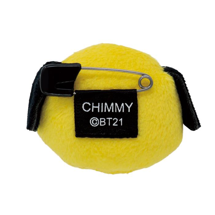 【日本限定・ネコポス可】BT21 ぬいバッジ CHIMMY