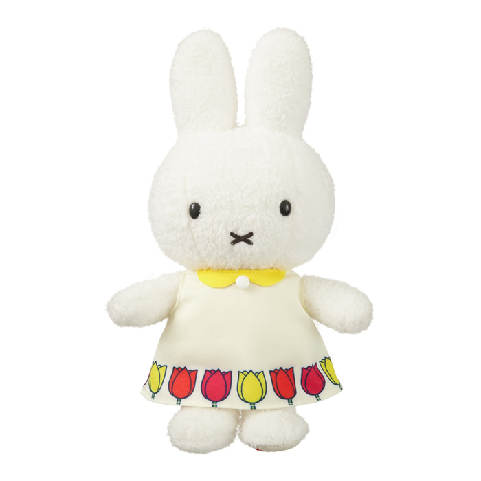 miffy and tulips ぬいぐるみ