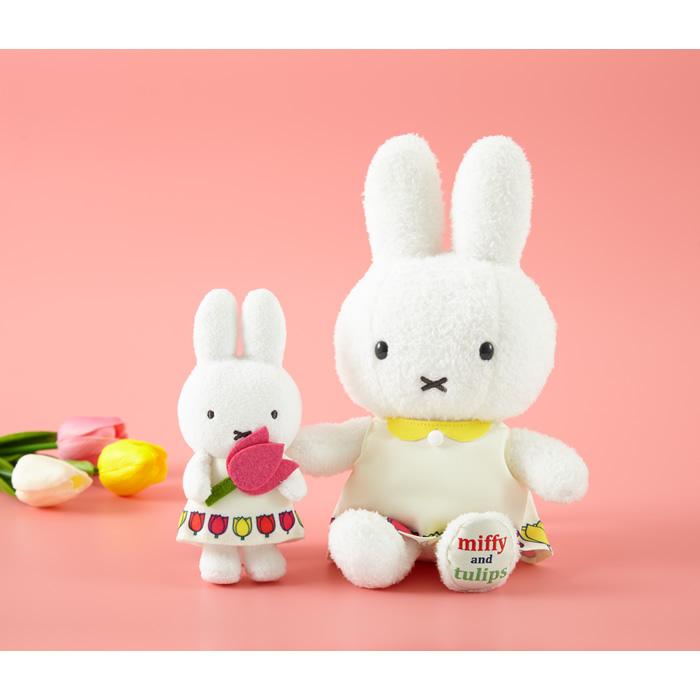 【予約】miffy and tulips マスコットキーチェーン