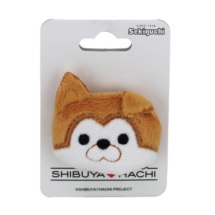 【ネコポス可】SHIBUYA HACHI ぬいバッジ