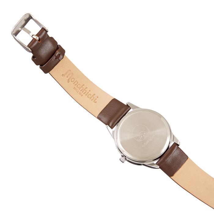 【予約商品】モンチッチくん 腕時計セット(ブラウン&シルバー)