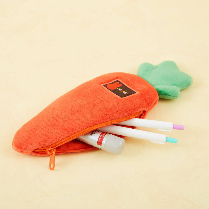【ネコポス可】miffy carrot ミッフィー キャロット ポーチ