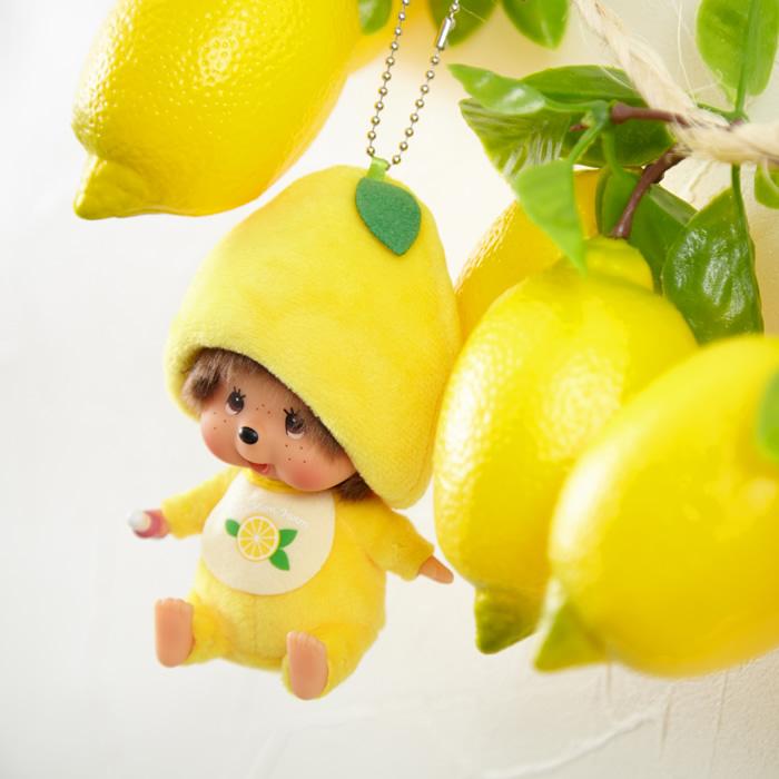 Mon Mon Farmレモン モンチッチ 顔でかSSキーチェーン 男の子