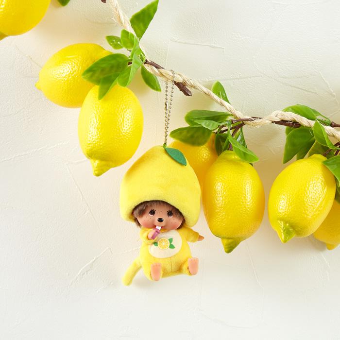 【予約商品】Mon Mon Farmレモン モンチッチ 顔でかSSキーチェーン 男の子