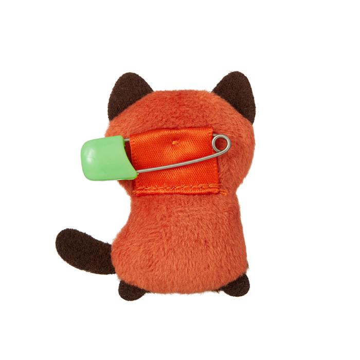 【ネコポス可】 ぬいバッジ レッサーパンダ