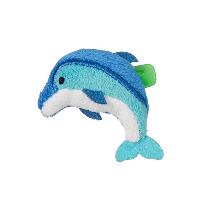 【ネコポス可】 ぬいバッジ イルカ