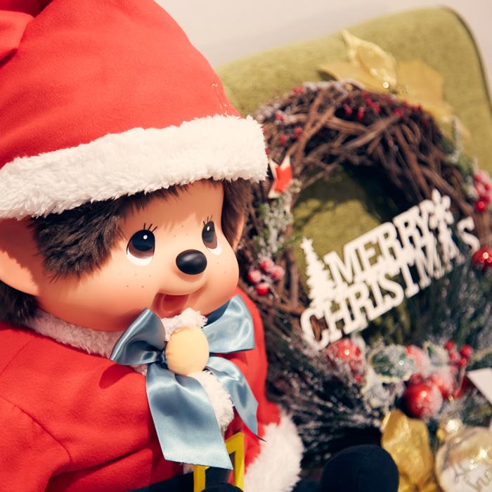 【予約:12月中旬発送】モンチッチ サンタクロース2020 2Lサイズ【当店限定】