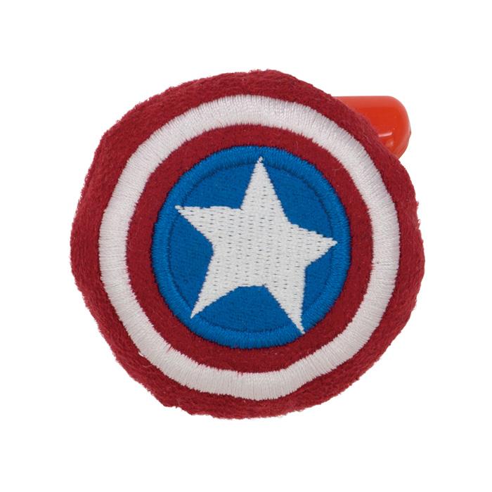 【ネコポス可】 マーベル GURIHIRU ぬいバッジ キャプテン・アメリカ シールド