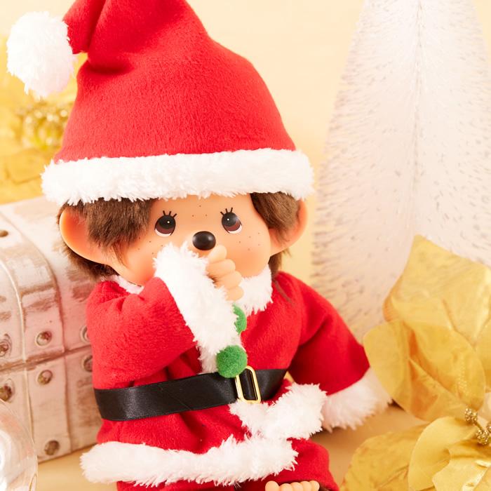 【予約:12月中旬発送】モンチッチ サンタクロース Mサイズ【当店限定】