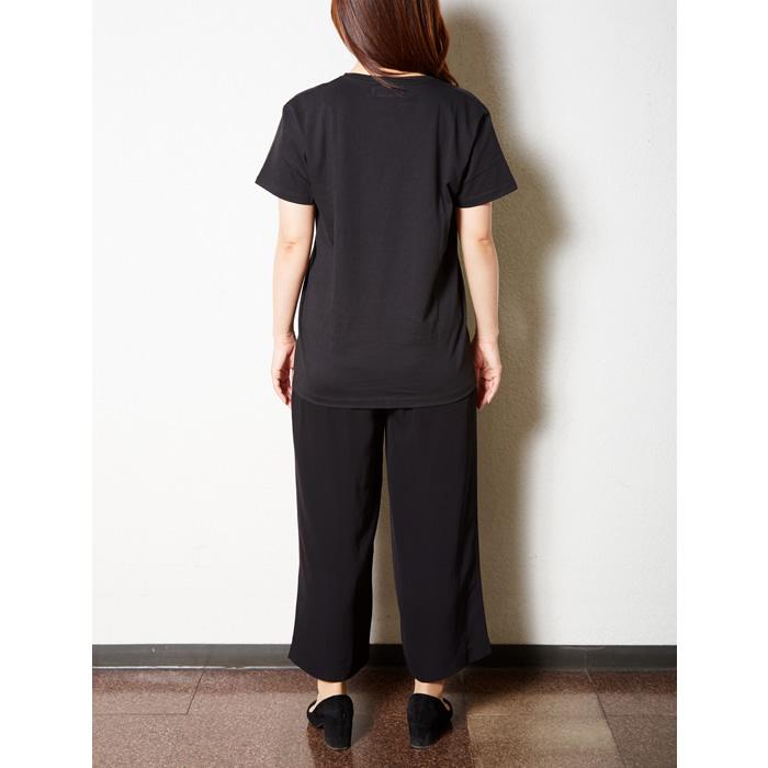 NAKAYOSHI OF KOYOSHI UネックTシャツ/グリーン