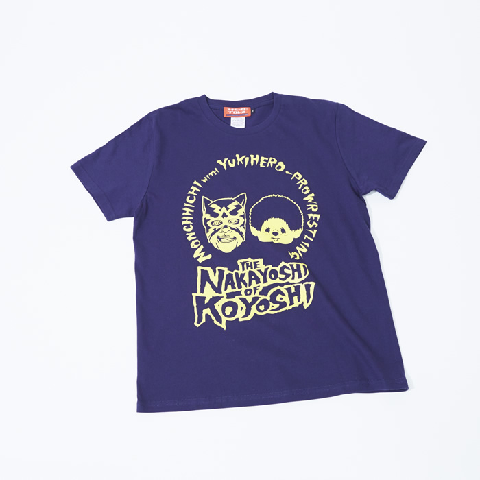 NAKAYOSHI OF KOYOSHI クルーネックTシャツ/グレープフルーツ