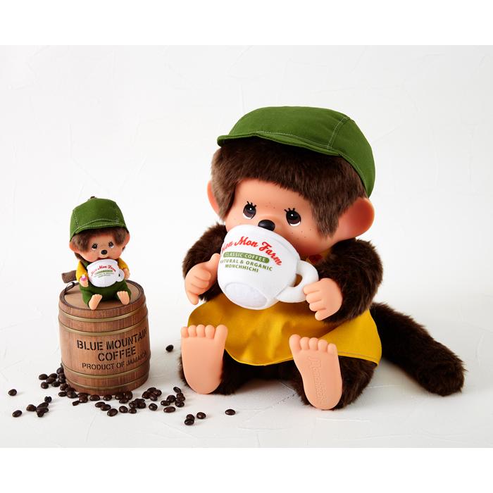 【予約】Mon Mon Farm コーヒー モンチッチ 顔でかSSキーチェーン 男の子