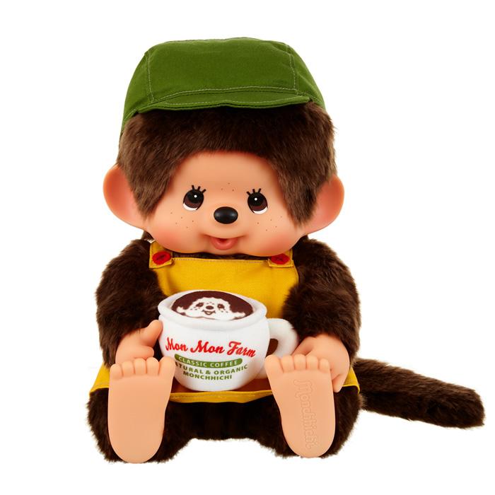 Mon Mon Farm コーヒーシリーズ モンチッチ やわらかL 男の子