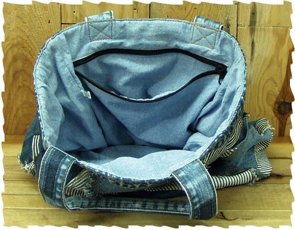トートバッグ-サイドポケット付き(3)