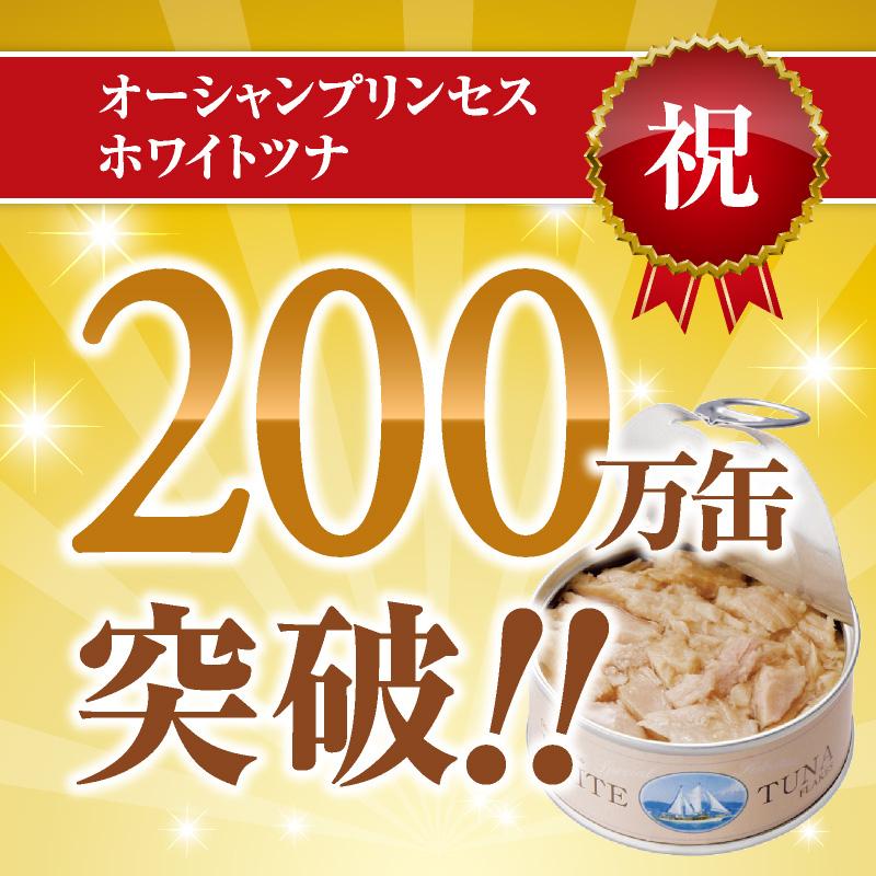 【※15%OFF・送料無料※】 <br>お試し6缶(3種)×1セット :オーシャンプリンセス ホワイトツナ