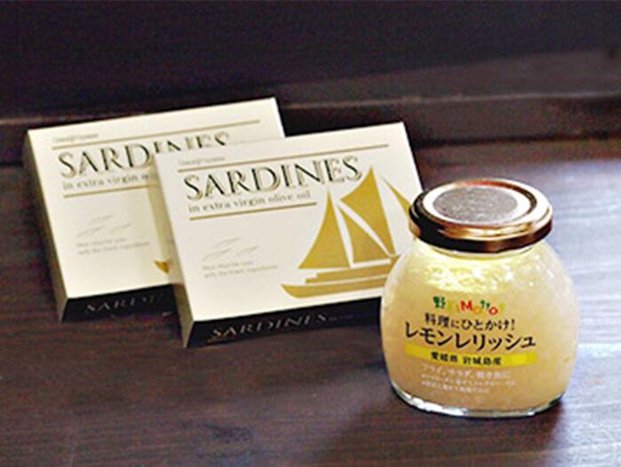 国産オイルサーディン&レモンレリッシュ<br>初回限定お試しセット