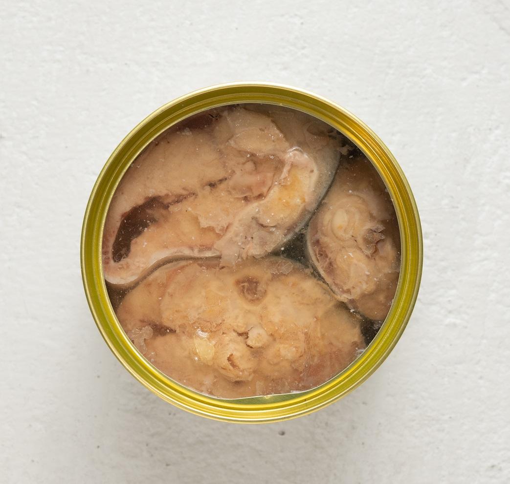 【数量限定】オーシャンプリンセス 『生』さばを使用した 贅沢さば缶(水煮)
