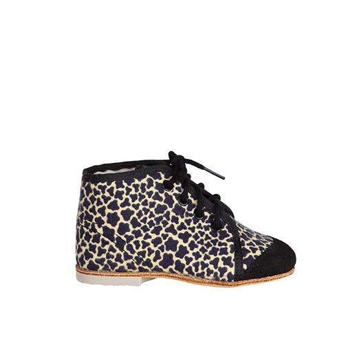 タイガーオリジナル 紐靴 黒