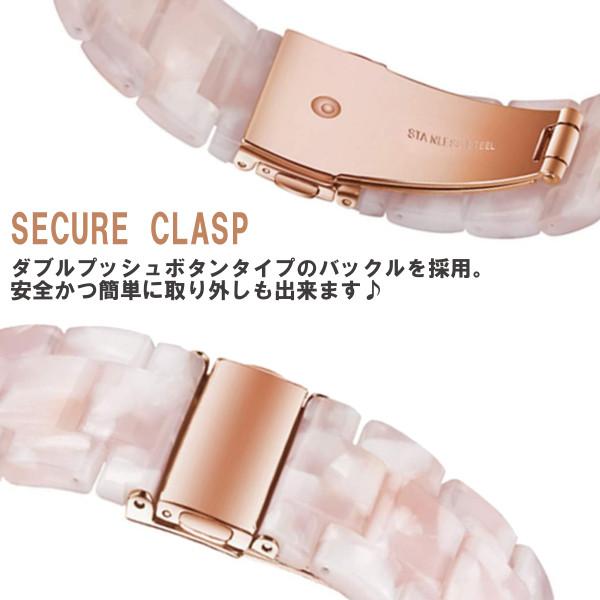 38/40mm Apple Watch 交換用ベルト トータスブラウン 【代引き不可・追跡可能メール便】