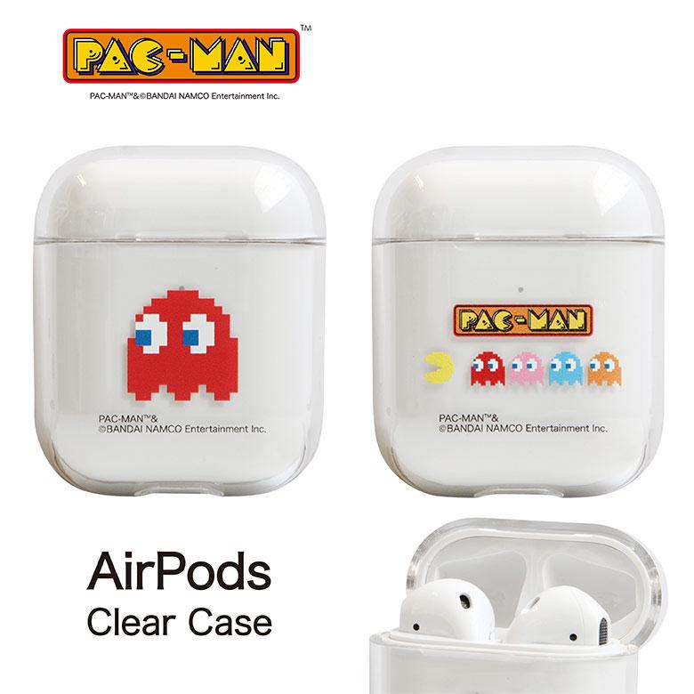 パックマン AirPods クリアケース
