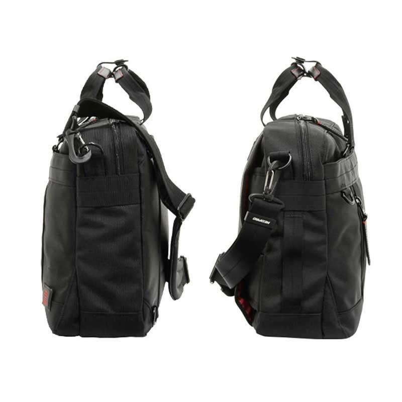 エンドー鞄 NEOPRO RED ネオプロ レッド 3way ビジネスバッグ ブリーフケース Sルーム クロ 2-038-BK