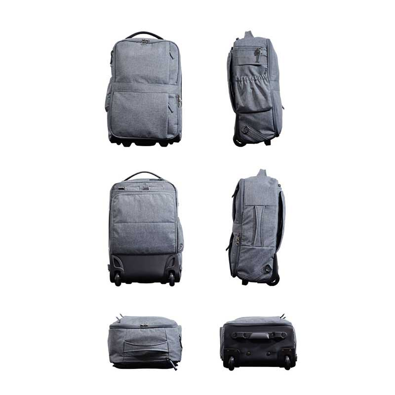 エンドー鞄 Spasso separator スパッソ セパレーター ビジネスバッグ リュック バックパック ブリーフケース キャリーケース 6way 杢グレー 1-330-GY