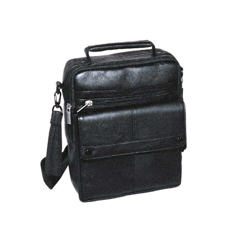 エンドー鞄 FARVIS SHEEP LEATHER ファービス シープ レザー ビジネス ショルダーバッグ B クロ 1-886-BK