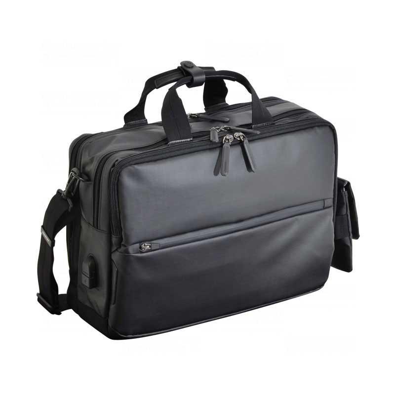 エンドー鞄 NEOPRO CONNECT ネオプロ コネクト ビジネス 3WAY ブリーフケース ショルダーバッグ リュックサック USBポート ポリカブラック 2-771-PBK