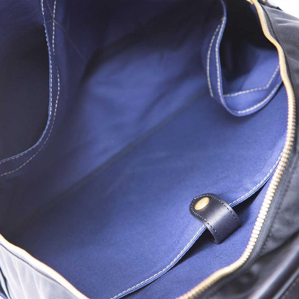 acoustic world アコースティック・ワールド SKYWALK 2way ビジネスバッグ リュック 日本製 ブラック awb00108-BK