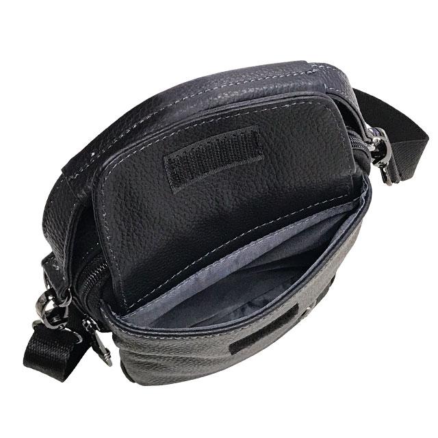 エンドー鞄 FARVIS HOLIDAY ファービス ホリデー レザー ショルダーバッグ S クロ 4-361-BK