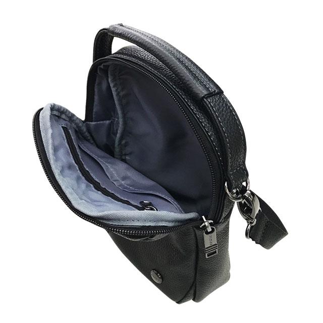 エンドー鞄 FARVIS HOLIDAY ファービス ホリデー レザー ショルダーバッグ M クロ 4-363-BK