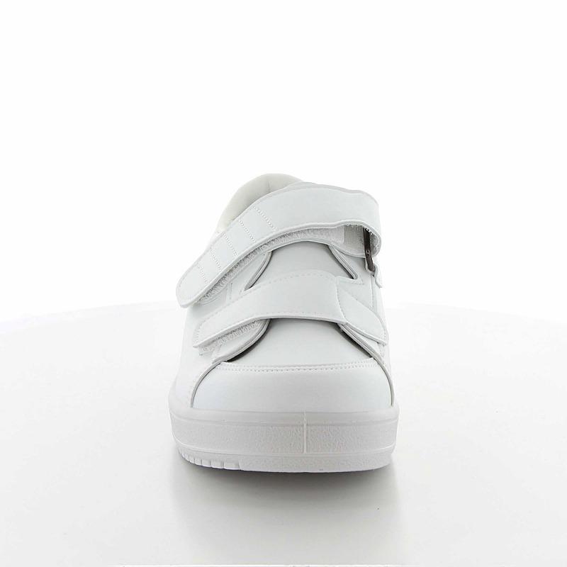 ムーンスター メンズ/レディース リハビリ 介護靴 片足販売 Vステップ03(右足のみ) ホワイトA